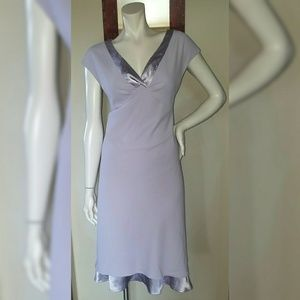 AGB Byer California Satin-lined lavender DRESS 14